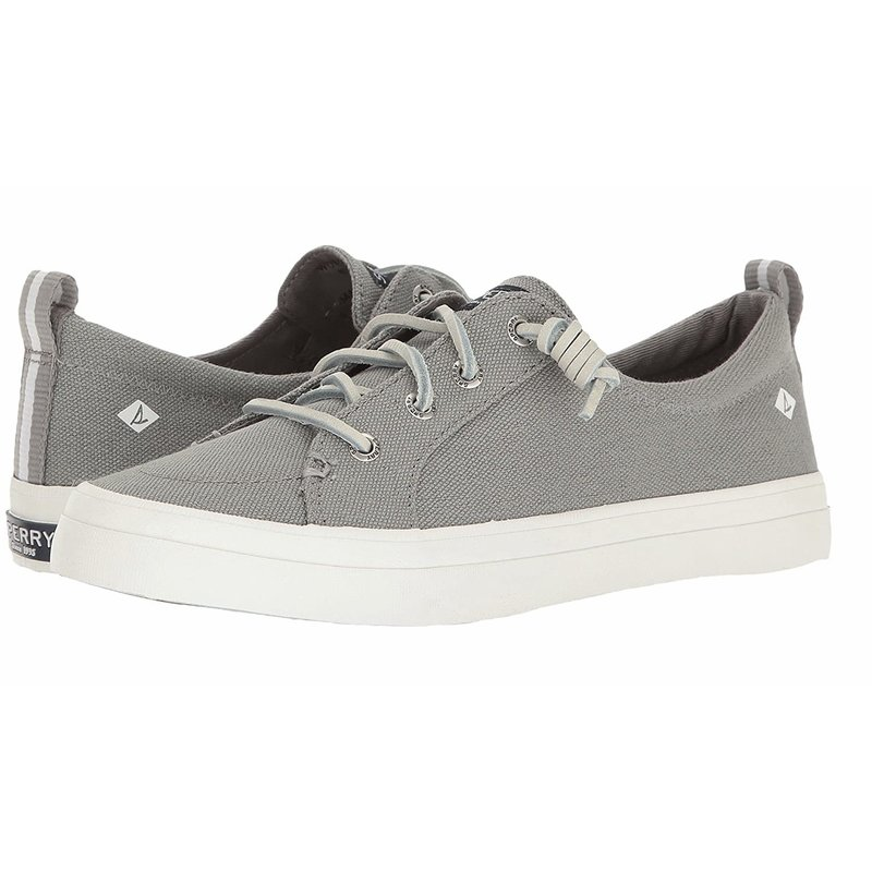 Sperry Sperry Grey/White Crest Vibes Sneaker