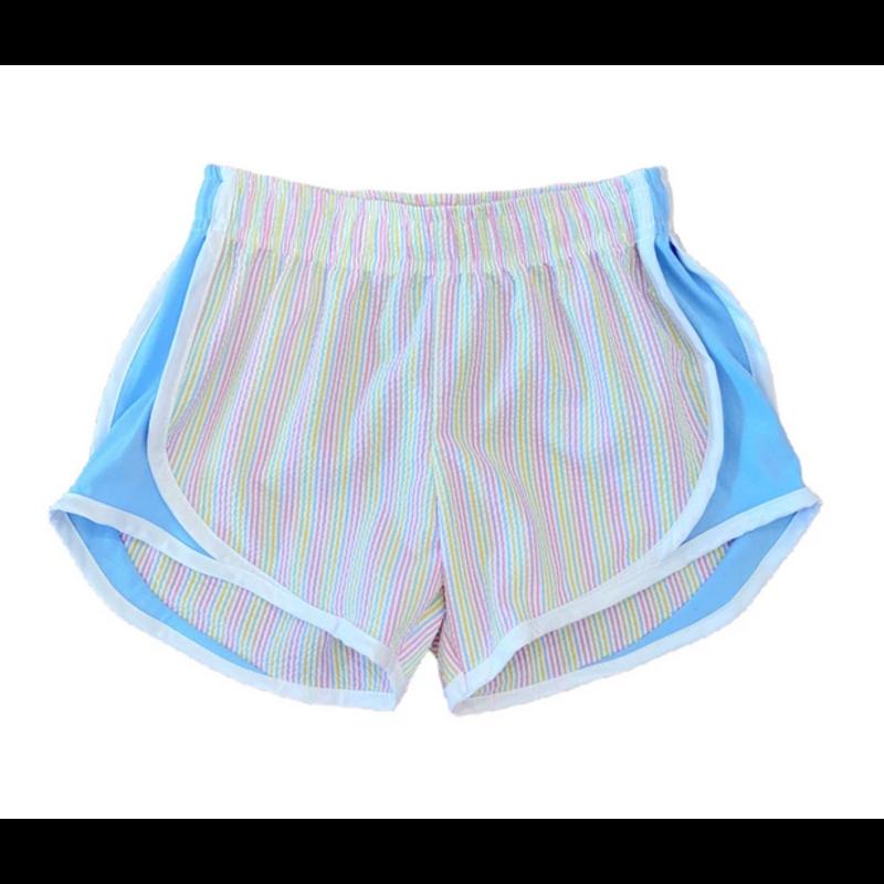 Funtasia Too Funtasia Too Multi Stripe Athletic Shorts
