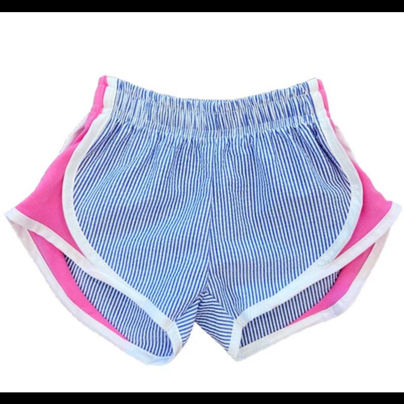 Funtasia Too Funtasia Too Navy Stripe Athletic Shorts