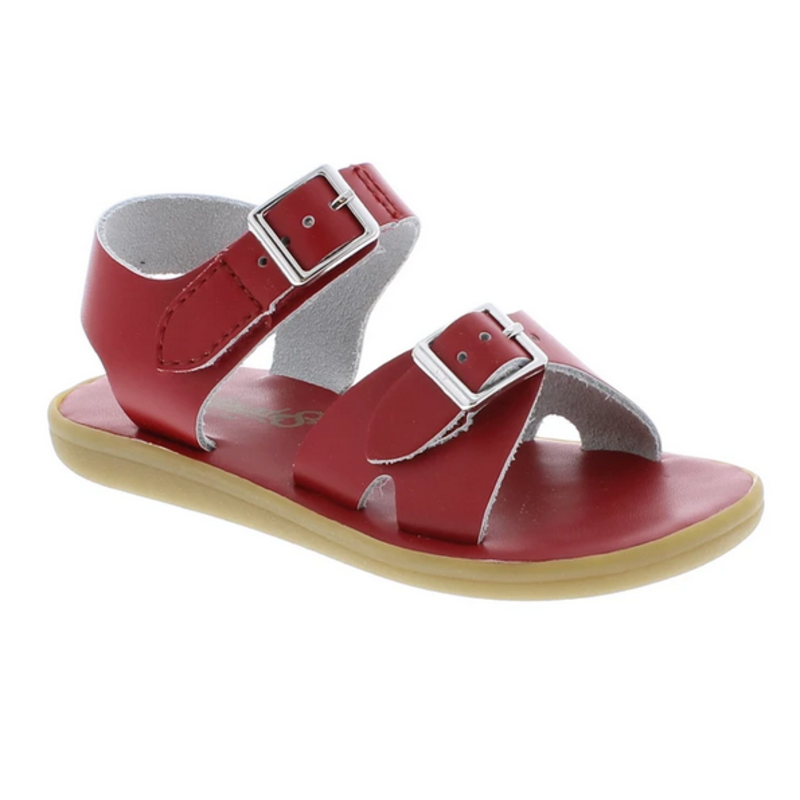 Footmates Footmates Tide Apple Red