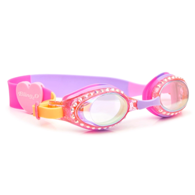 Bling2o Bling2o Straw-Blue-Berry Goggles