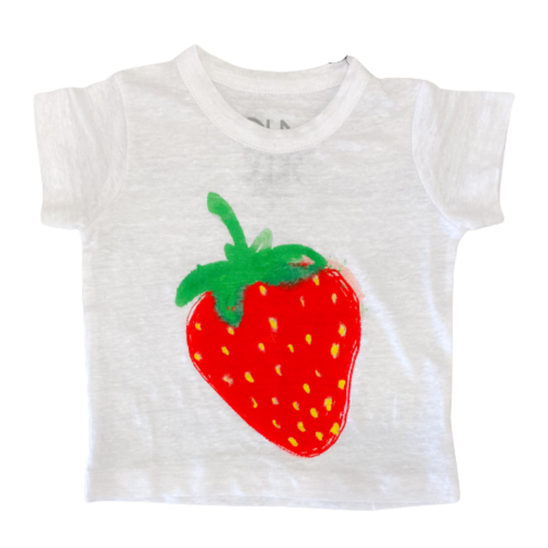 Chaser Strawberry Crew Neck Tee