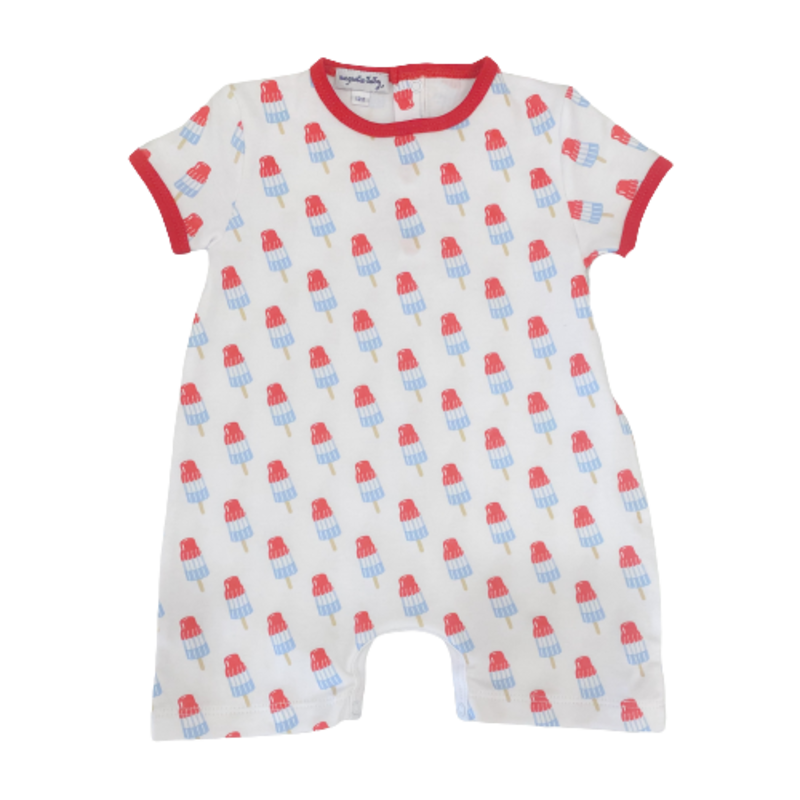 Magnolia Baby Magnolia Baby Ice Pops Printed Short Playsuit