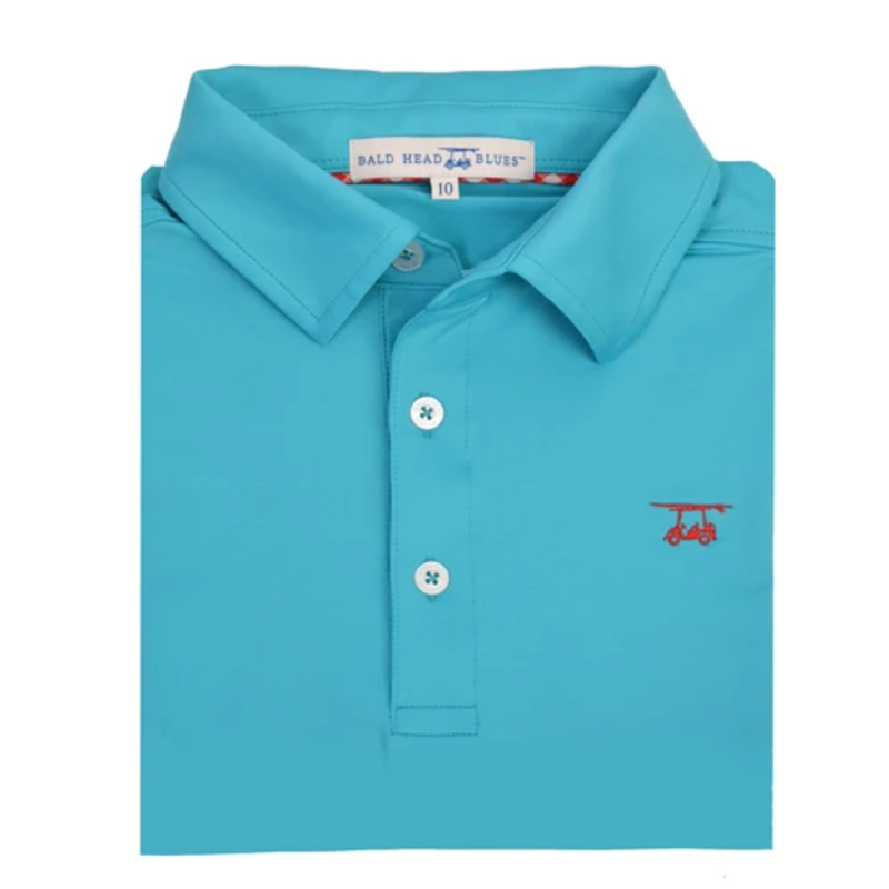 Bald Head Blues Bald Head Blues Albatross Youth Polo - Scuba Blue