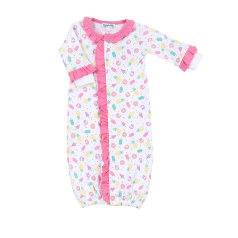 Magnolia Baby Magnolia Baby Fruit Pops Printed Ruffle Front Converter