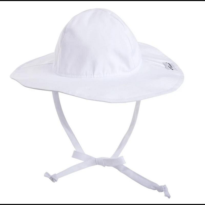 Flap Happy Flap Happy White Floppy Hat