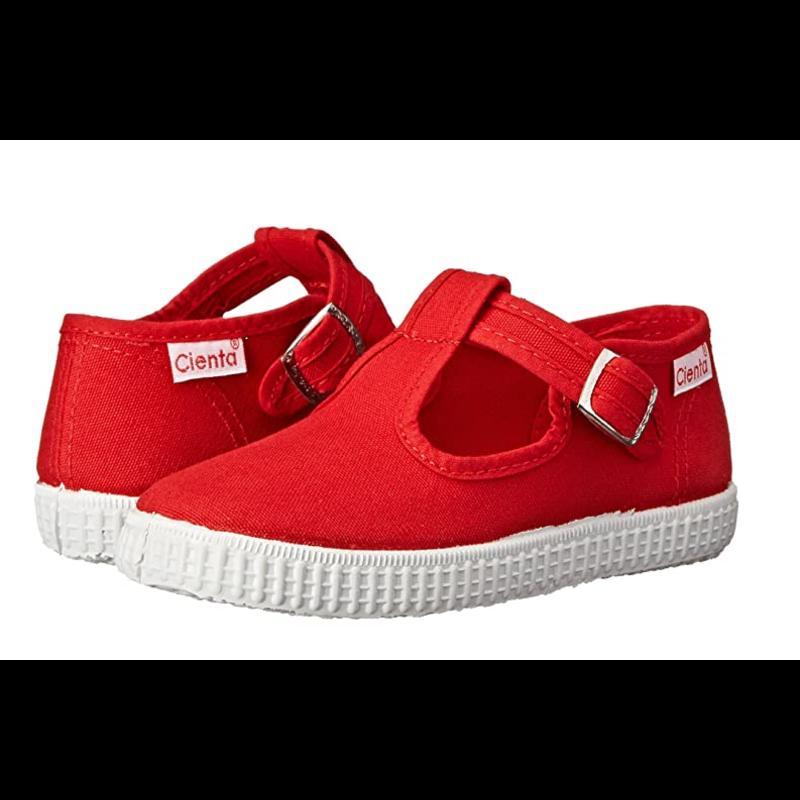 Cienta Cienta Red  T-Strap