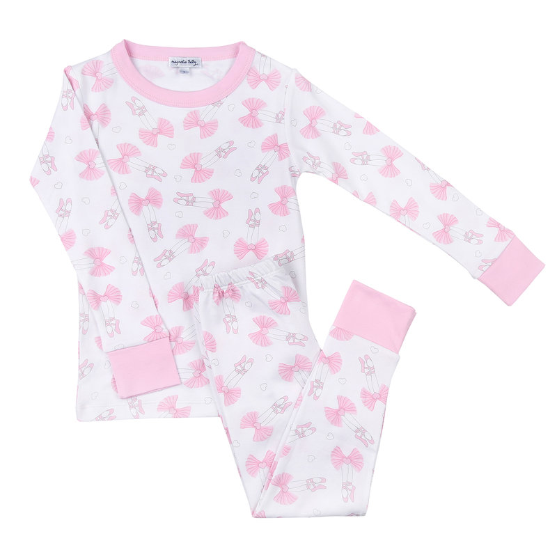 Magnolia Baby Magnolia Baby My First Pointe Shoes Long Pajama