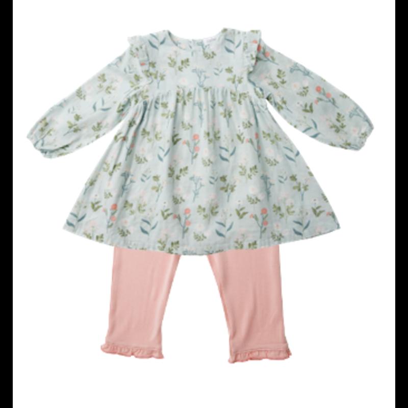 Angel Dear Angel Dear Meadow Floral Dress Legging Set *PRE-ORDER*