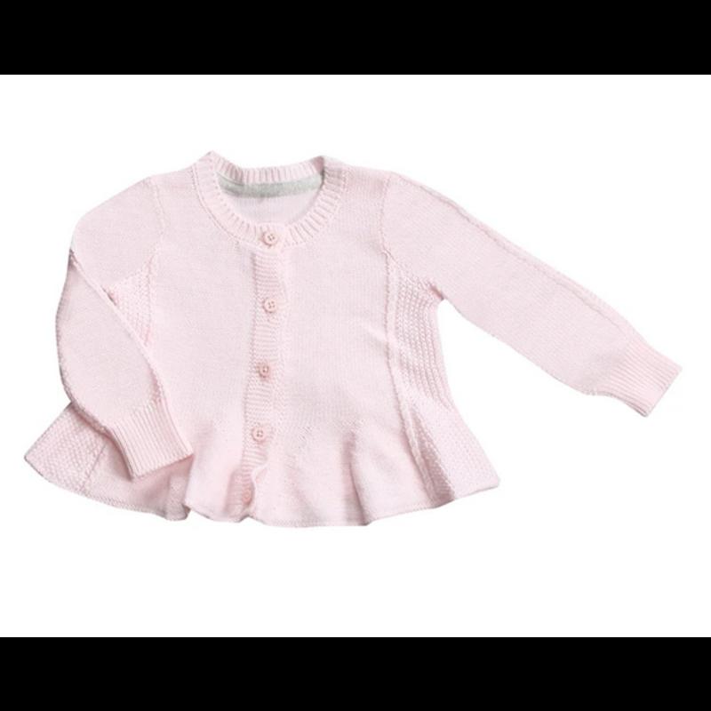 Angel Dear Angel Dear Pale Pink Seed Cardigan *PRE-ORDER*