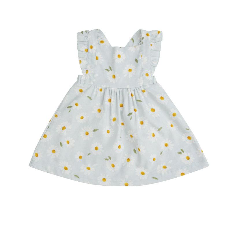 Angel Dear Angel Dear Daisy Corduroy Pinafore Dress