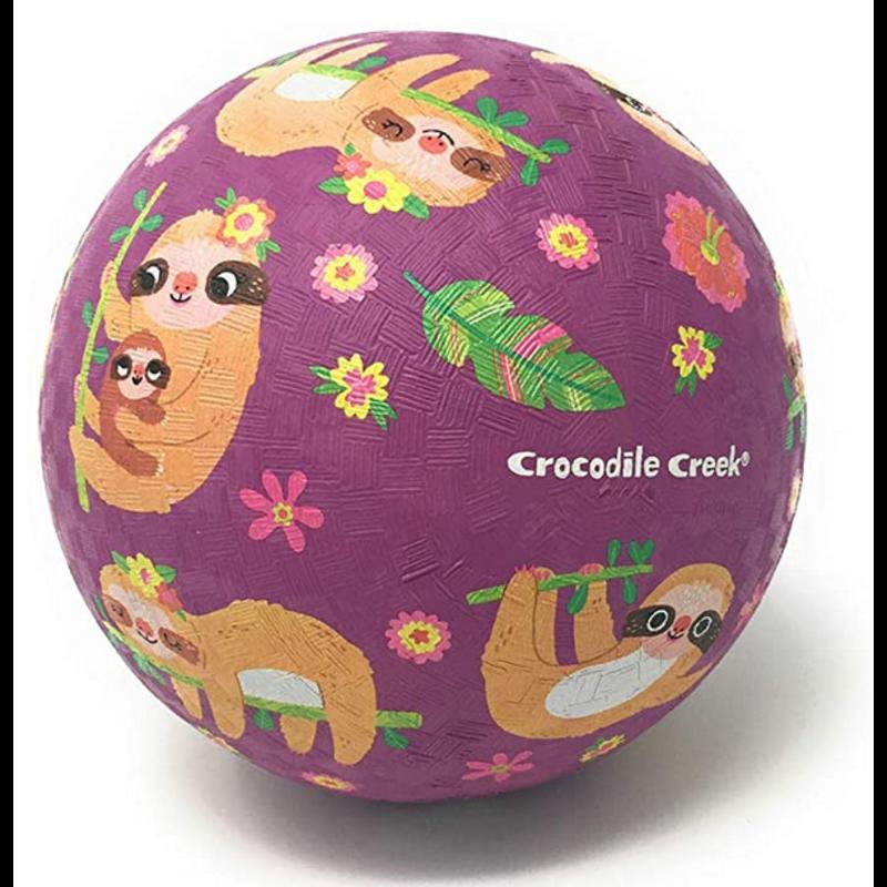"Crocodile Creek Crocodile Creek 5"" Playball - Sloth"