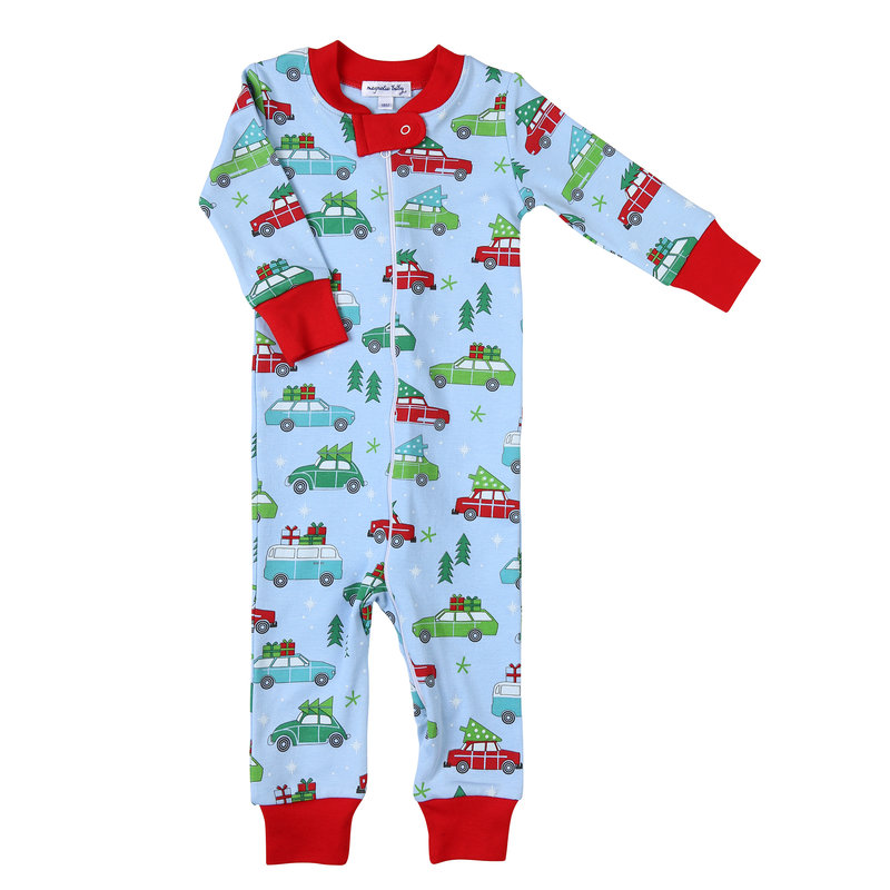 Magnolia Baby Magnolia Baby Best Time Of The Year Zipped Pajama
