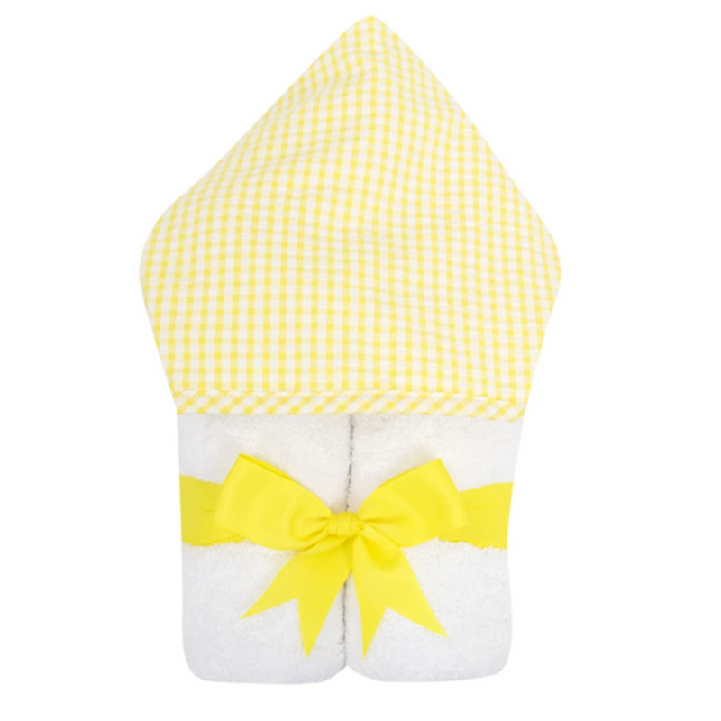 3 Marthas 3 Marthas Yellow Check Everykid Towel