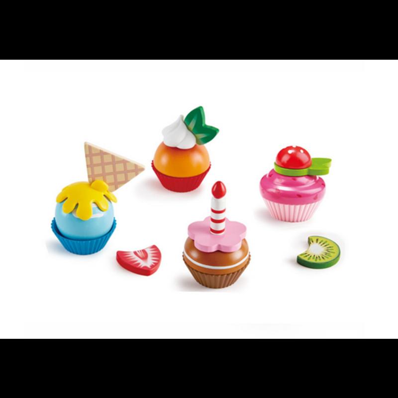 Hape Hape Pretend Food Cupcake Set