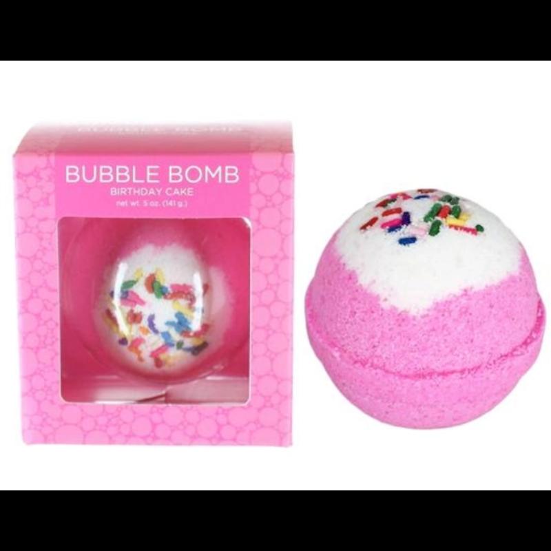 Two Sisters Spa Birthday Cake Bubble Bath Bomb