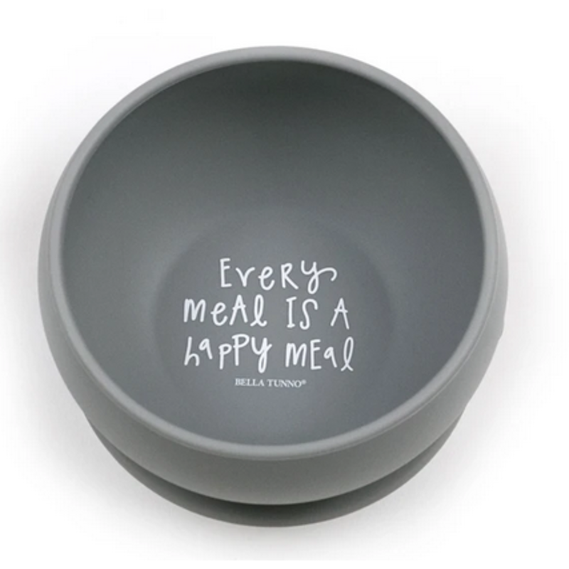 Bella Tunno Bella Tunno Every Meal Is A Happy Meal Suction Bowl