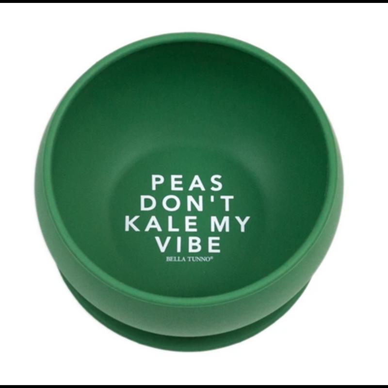 Bella Tunno Bella Tunno Peas Don't Kale My Vibe Suction Bowl