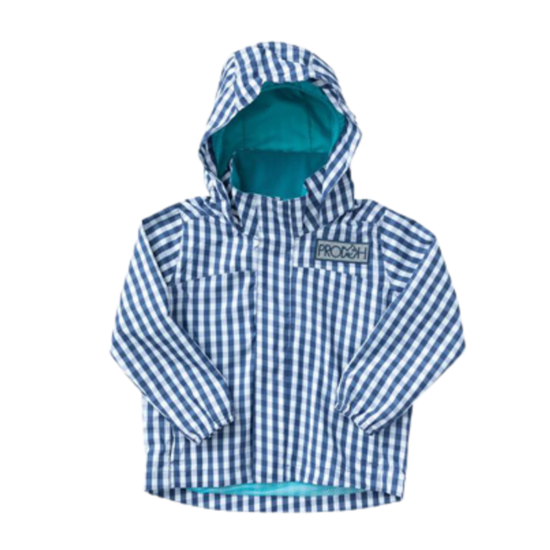 PRODOH Prodoh Water & Wind Reflective Jacket - Blueberry Gingham *PRE-ORDER*