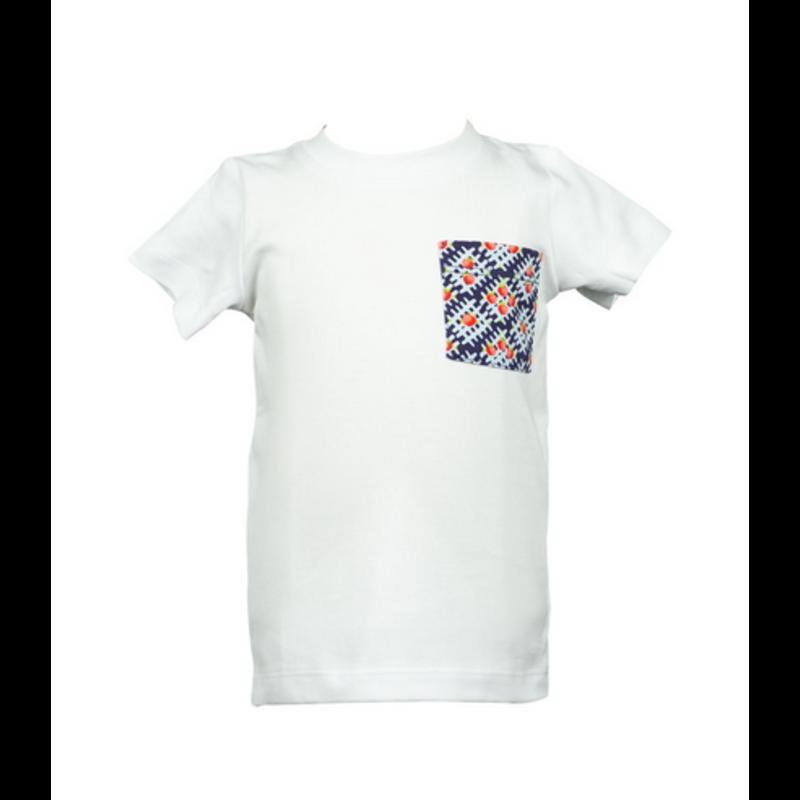 The Proper Peony The Proper Peony Apple Plaid Pocket T-Shirt