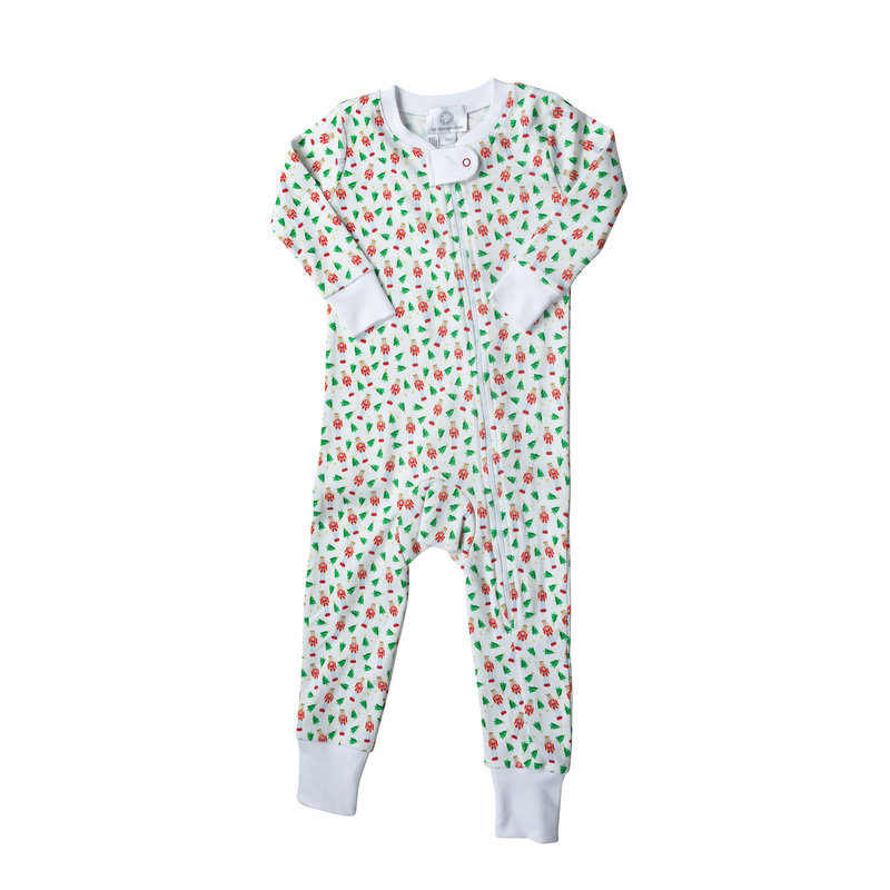 The Proper Peony The Proper Peony Nutcracker Zipper Pajama *PRE-ORDER*