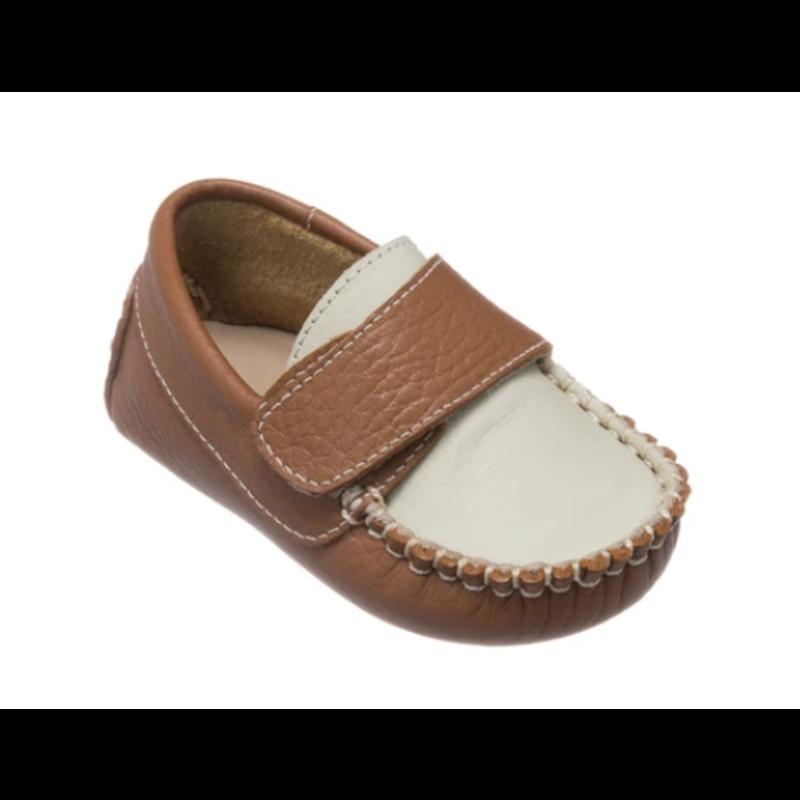 Elephantito Elephantito Oliver Baby Shoes - Caramel