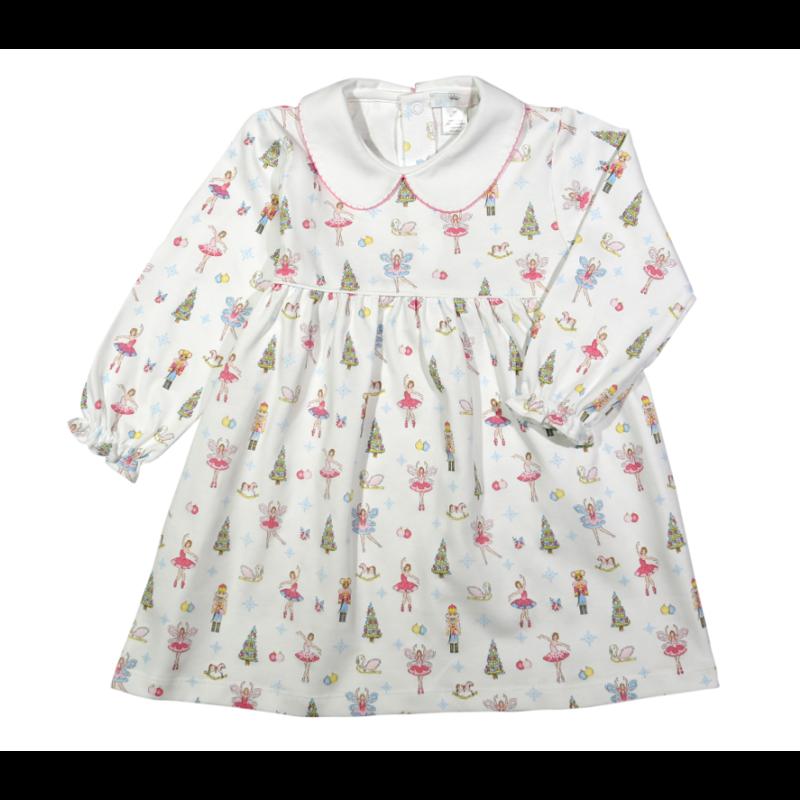 Baby Loren Pink Nutcrackers Dress