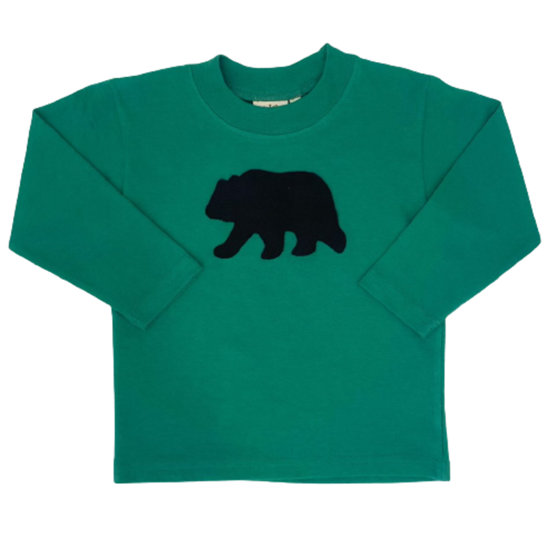 Luigi Luigi Black Bear T-Shirt