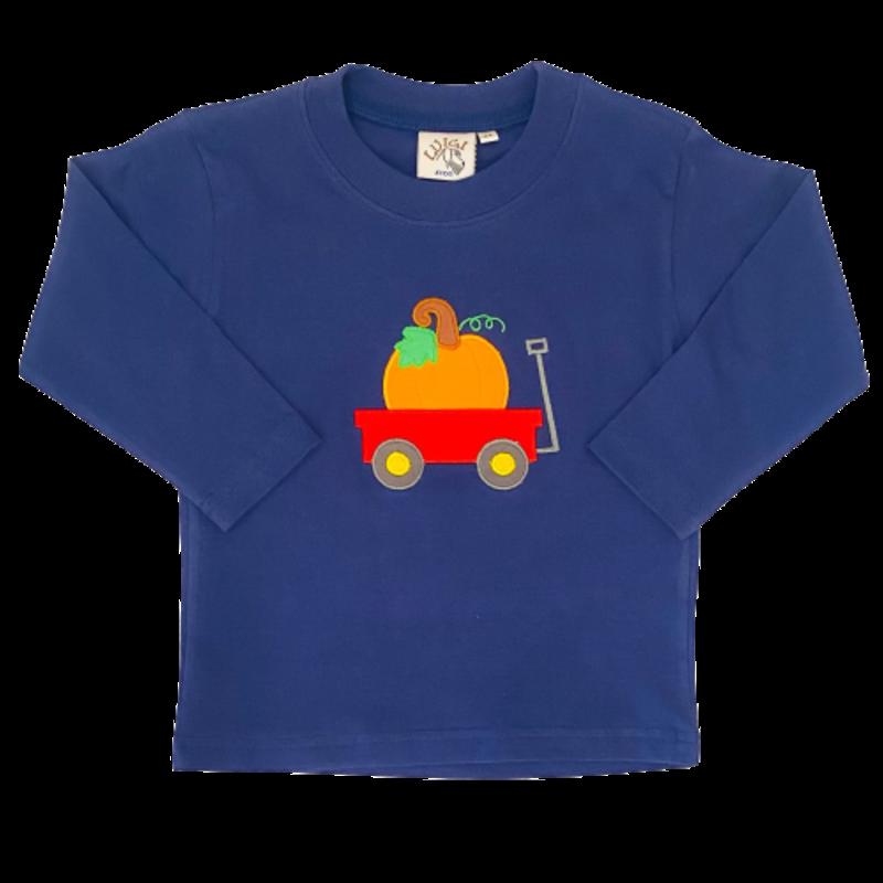 Luigi Luigi Pumpkin Wagon T-Shirt