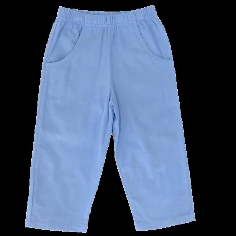 Luigi Luigi Corudoy Pants W Pockets - Sky Blue