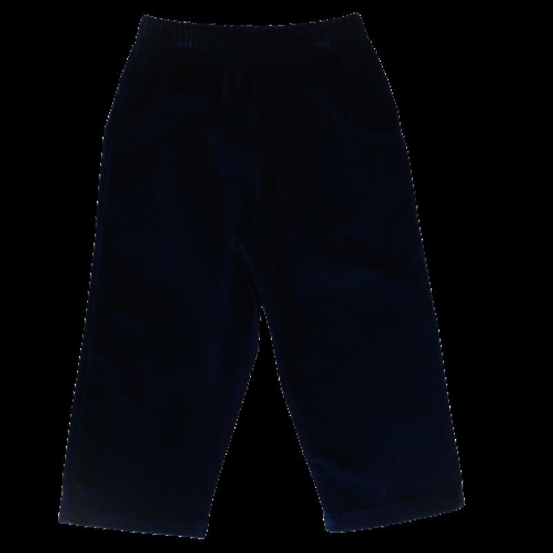 Luigi Luigi Corudoy Pants W Pockets - Navy