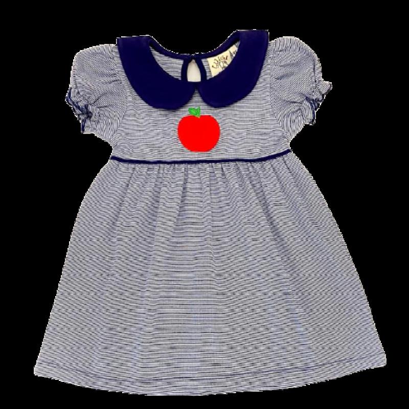 Luigi Luigi Stripe Apple Dress