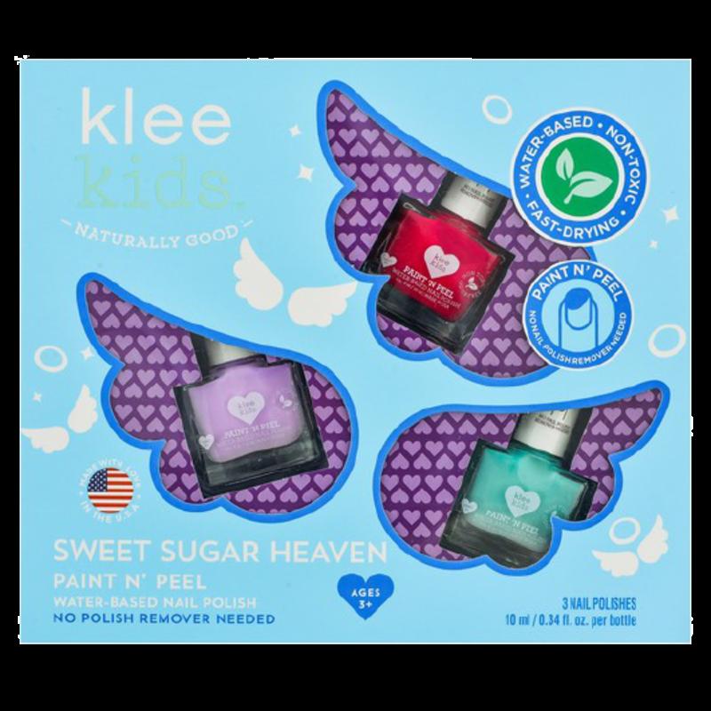 Klee Kids Klee Kids Nail Polish Set- Sweet Sugar Heaven