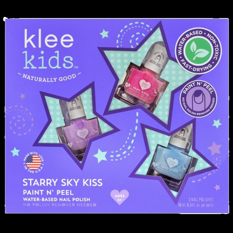 Klee Kids Klee Kids Nail Polish Set- Starry Sky Kiss