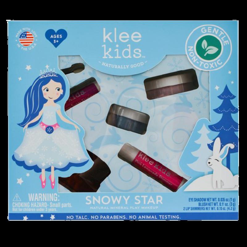 Klee Kids Klee Kids Natural Minerals Play Makeup Set - Snowy Star