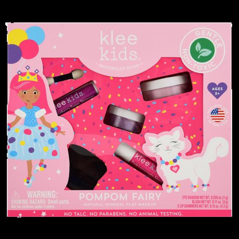 Klee Kids Klee Kids Natural Minerals Play Makeup Set - Pom Pom Fairy