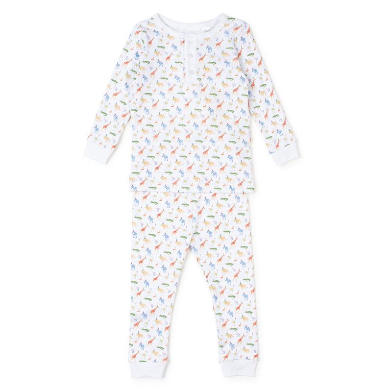 Lila + Hayes Lila + Hayes Party Animals Jack Pajamas