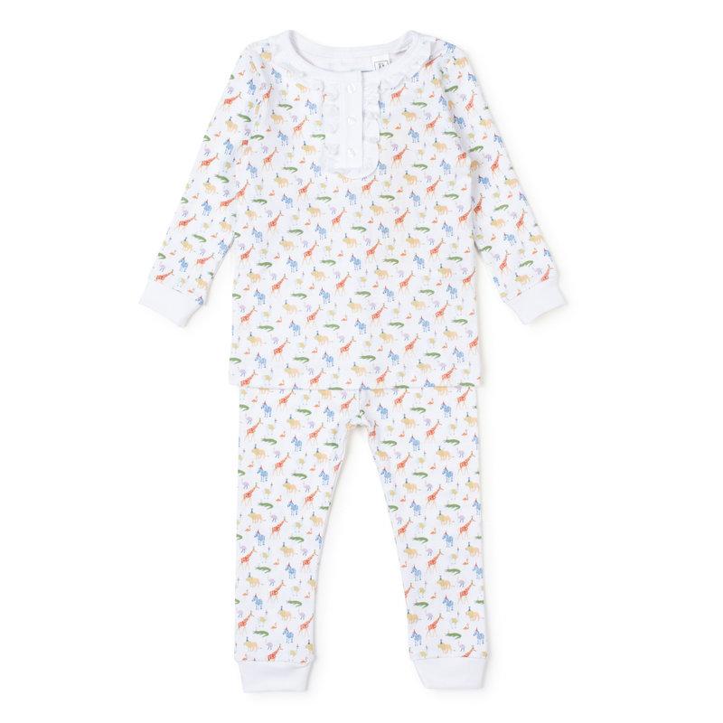 Lila + Hayes Lila + Hayes Party Animals Alden Pajamas