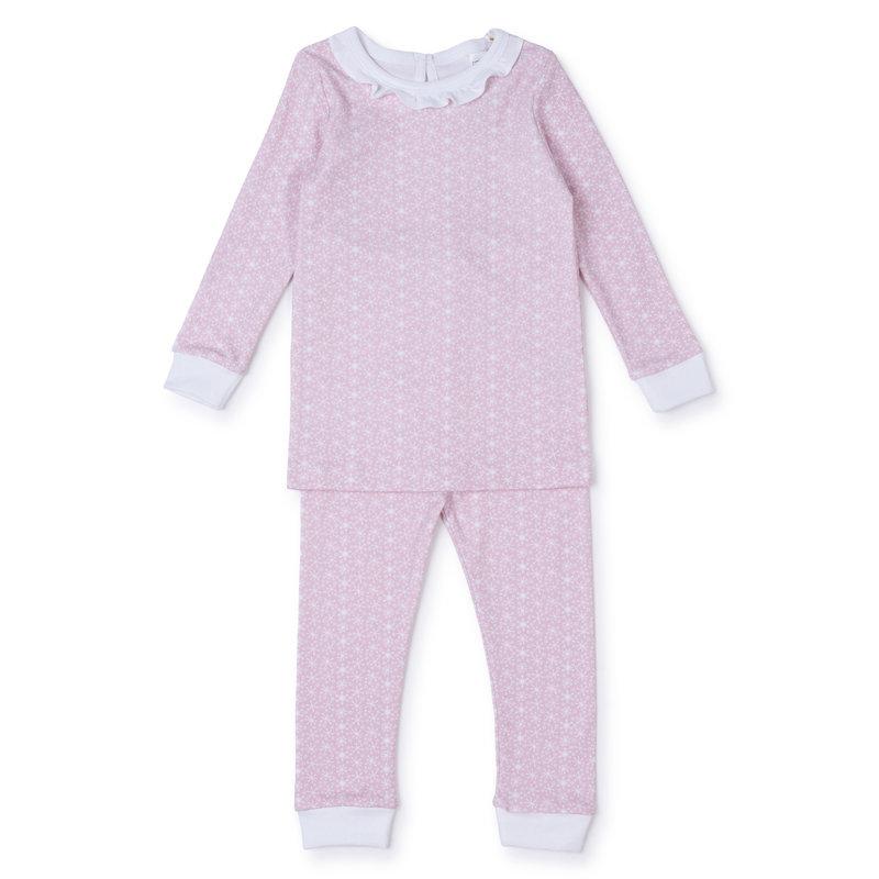 Lila + Hayes Lila + Hayes Pink Snowflakes Ava Pajamas *PRE-ORDER*
