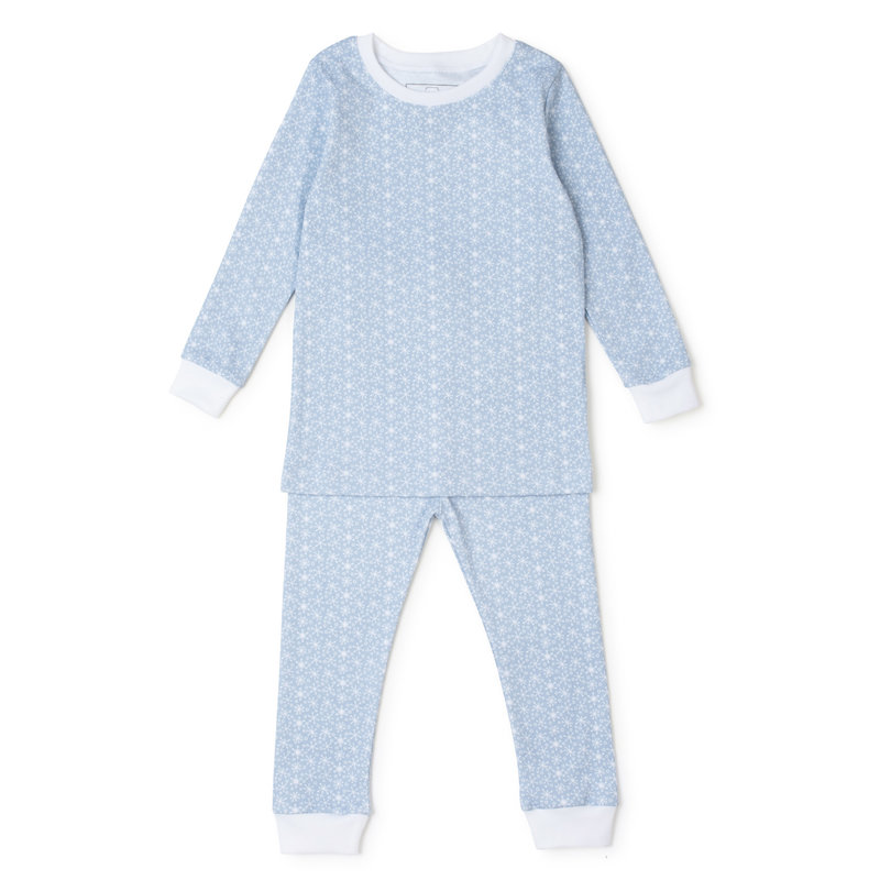 Lila + Hayes Lila + Hayes Blue Snowflakes Grayson Pajamas *PRE-ORDER*