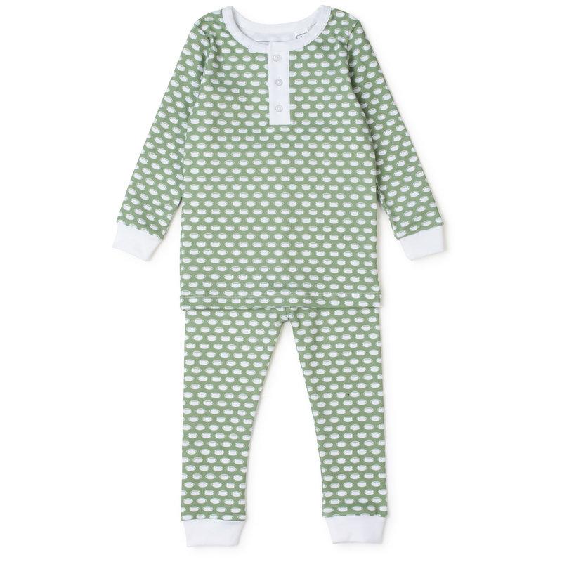 Lila + Hayes Lila + Hayes Football Jack Pajamas