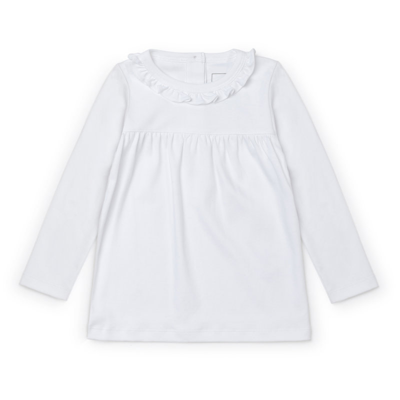 Lila + Hayes Lila + Hayes White Ivy Top