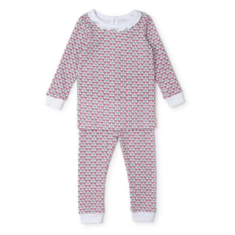 Lila + Hayes Lila + Hayes Christmas Bows Ava Pajamas *PRE-ORDER*
