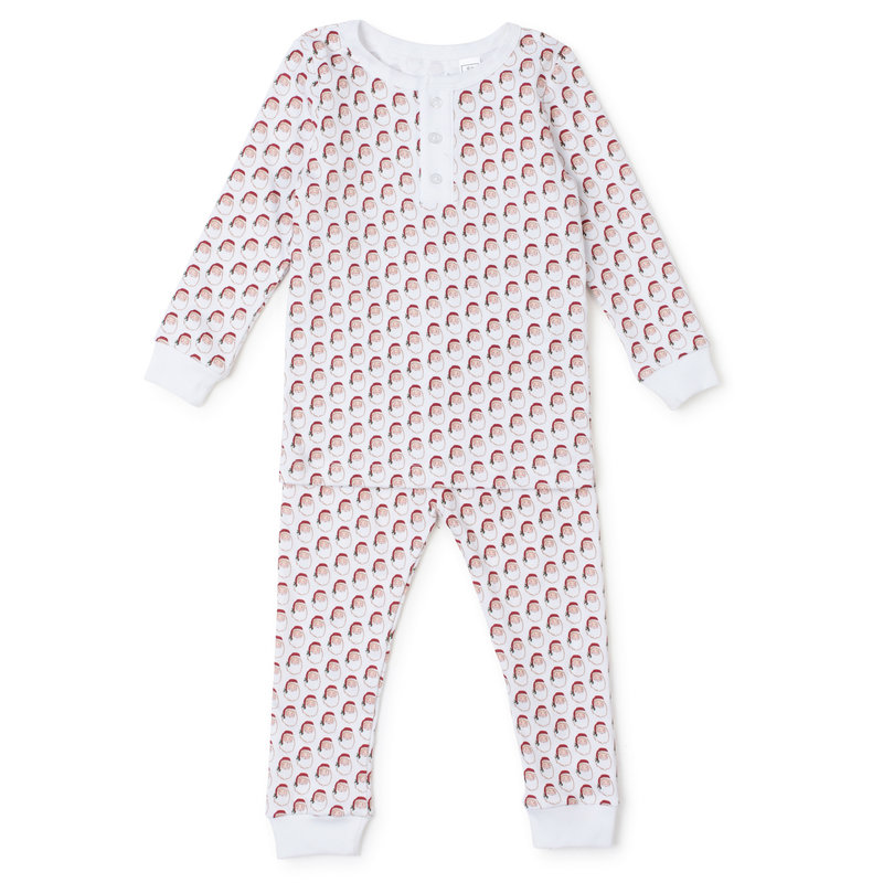 Lila + Hayes Lila + Hayes Holly Jolly Santa Jack Pajamas *PRE-ORDER*