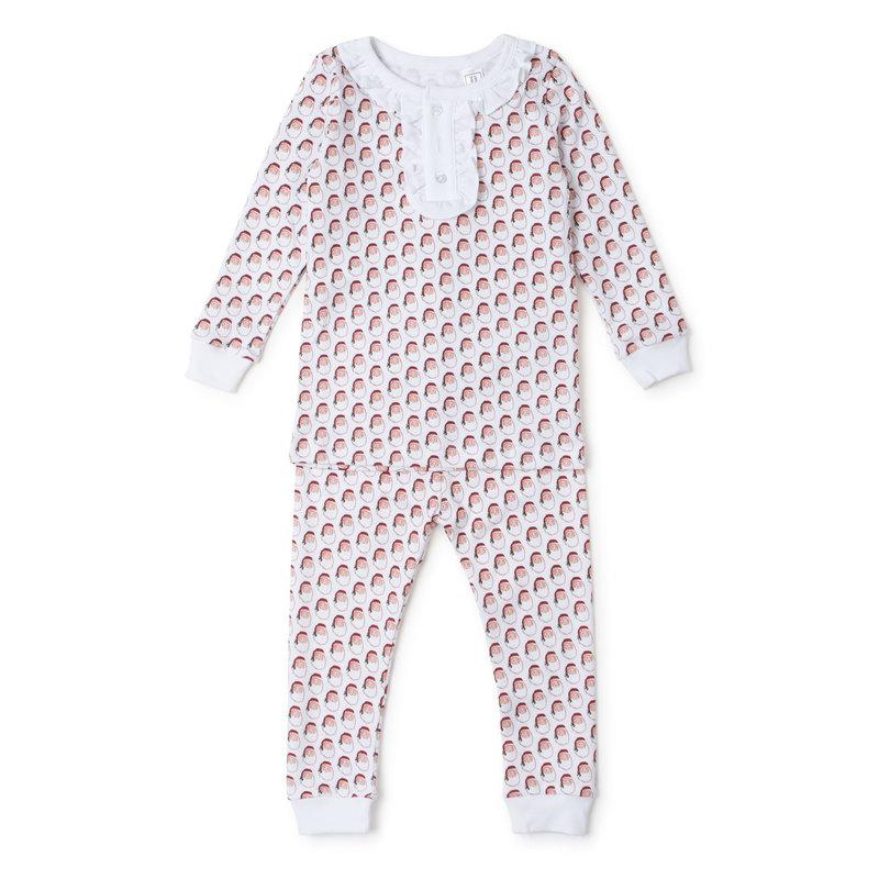 Lila + Hayes Lila + Hayes Holly Jolly Santa Alden Pajamas *PRE-ORDER*
