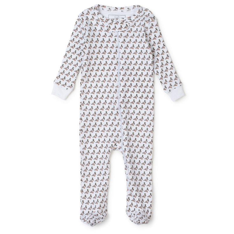 Lila + Hayes Lila + Hayes Mallard Duck Parker Zipper Pajama