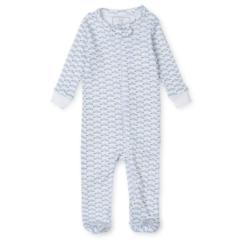Lila + Hayes Lila + Hayes Mountain View Parker Zipper Pajama *PRE-ORDER*
