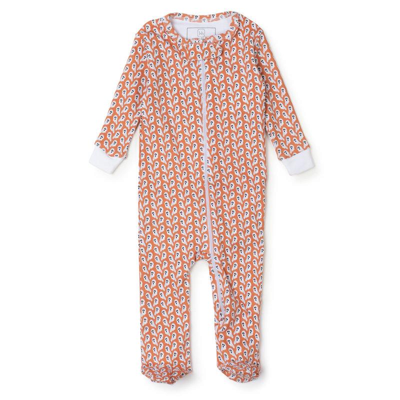 Lila + Hayes Lila + Hayes Ghosts Parker Zipper Pajama