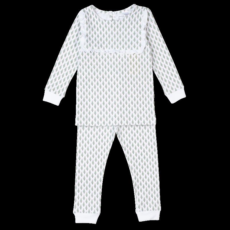Lila + Hayes Lila + Hayes Tiny Trees Taylor Pajamas *PRE-ORDER*