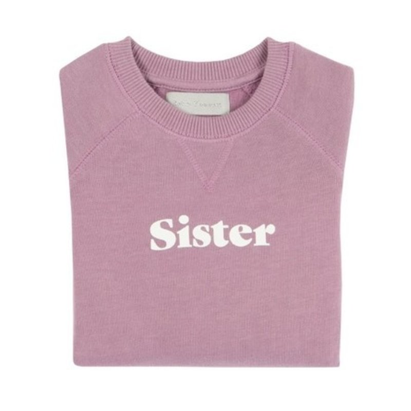 Bob & Blossom Violet Sister Sweatshirt